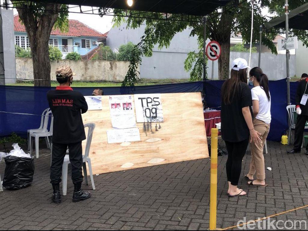 TPS di Perumahan Mewah Surabaya Ini Sepi, Pemilih Tak Sampai Separuh