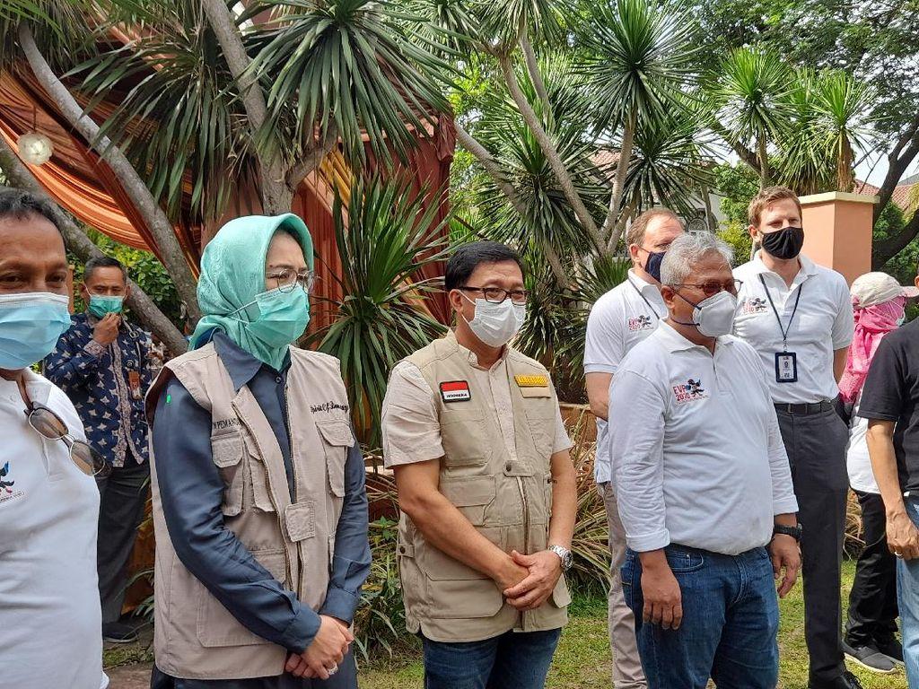 Pilwalkot Tangsel, 1 TPS Khusus Pasien COVID-19 Ditambah di Tandon Ciater