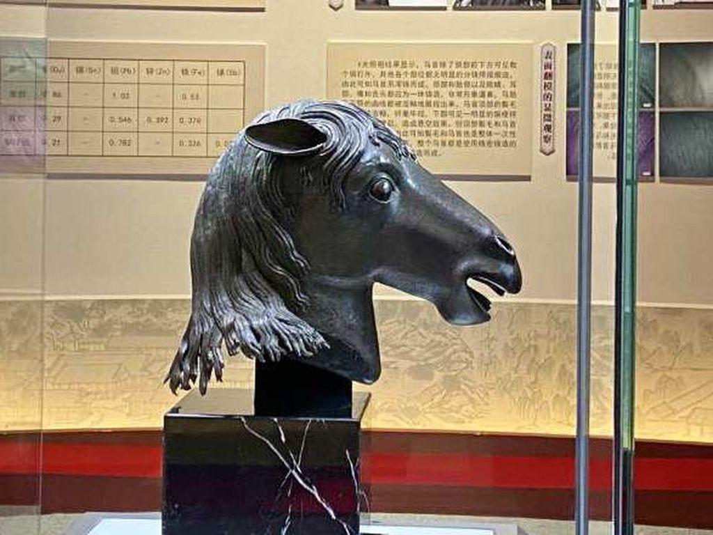 Setelah 160 Tahun, Patung Kepala Kuda yang Dijarah Kembali ke Museum China