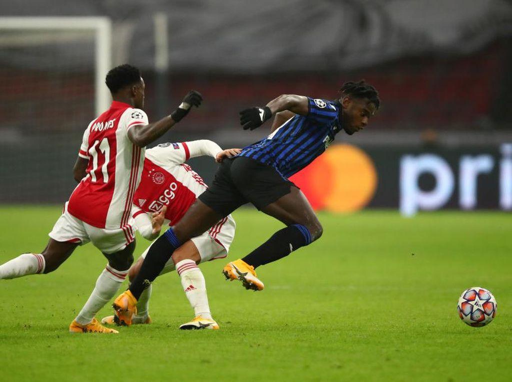 Ajax Vs Atalanta: Menang 1-0, La Dea Dampingi Liverpool ke 16 Besar