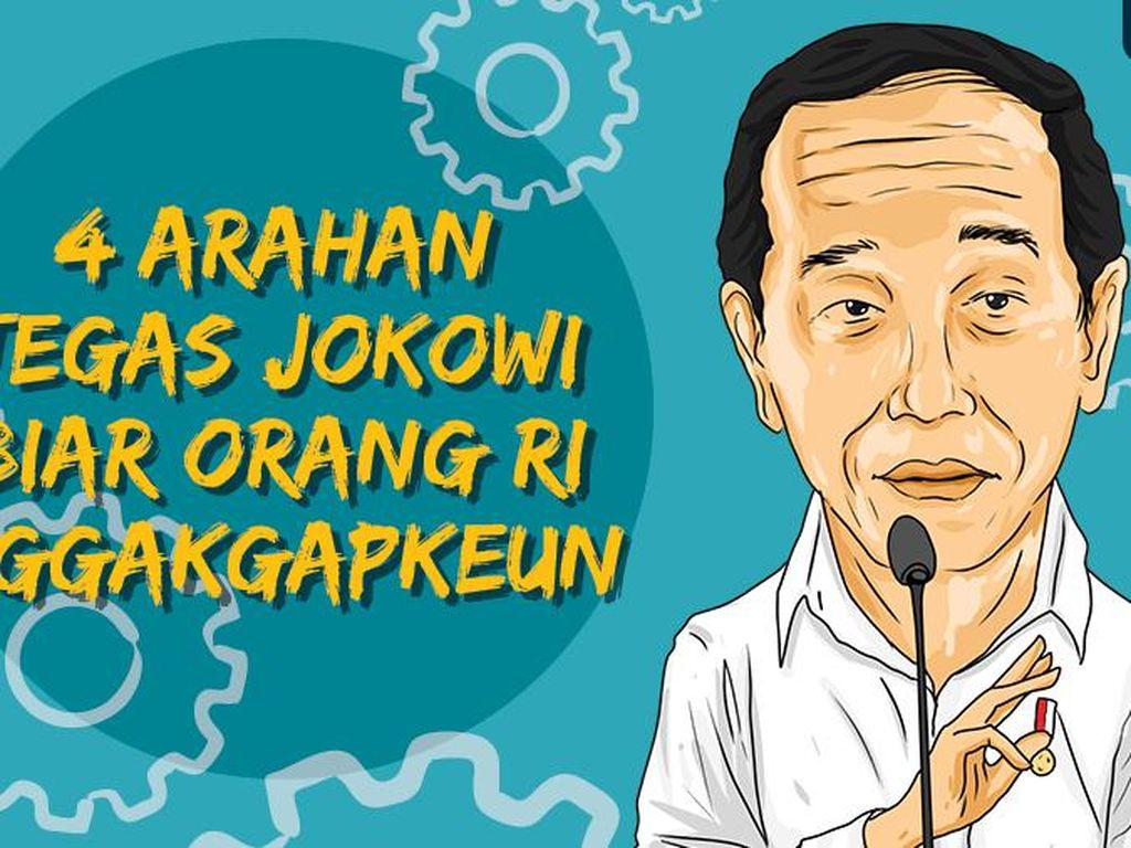 4 Arahan Tegas Jokowi Biar Orang RI Nggak Gapkeun