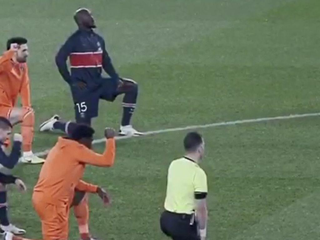 Bawa Pesan Anti-Rasialisme, Neymar cs Berlutut Saat Laga PSG Vs Istanbul