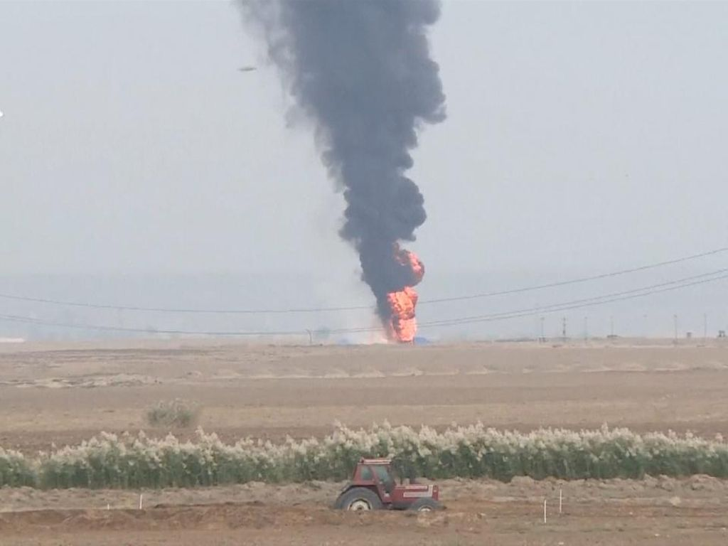 Bom Meledak di Dua Sumur Minyak Irak