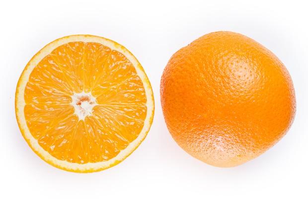 Buah jeruk.