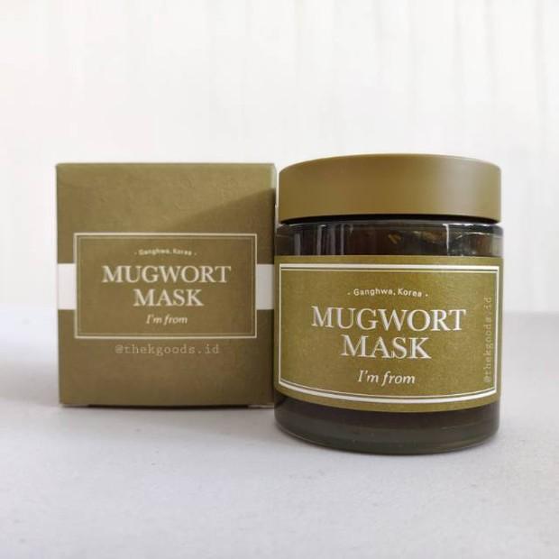 I'm From Mugwort Mask efektif mengatasi kemerahan pada kulit /shoope.co.id