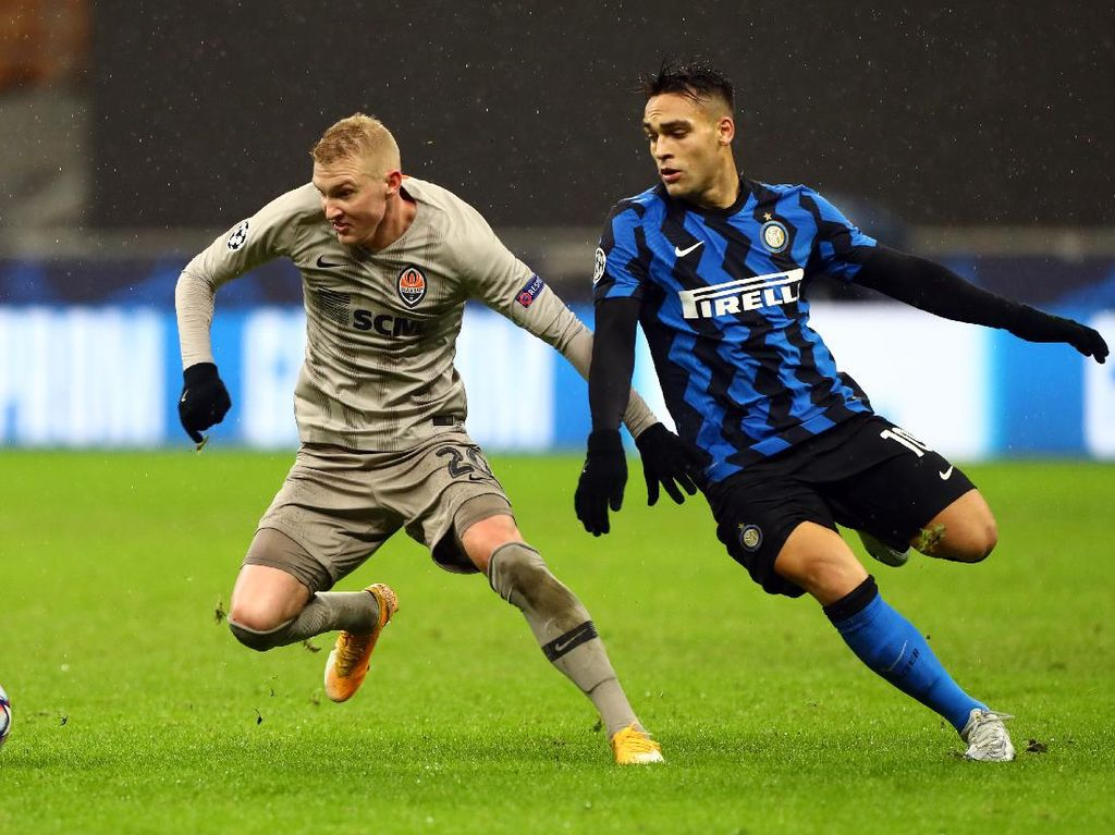 8 Data dan Fakta Hasil Seri Inter Vs Shakhtar di Liga Champions
