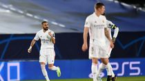 Dua Gol Benzema yang Menangkan Real Madrid Atas Moenchengladbach