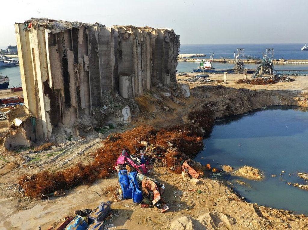 Nasib Gudang yang Hancur Akibat Ledakan di Lebanon