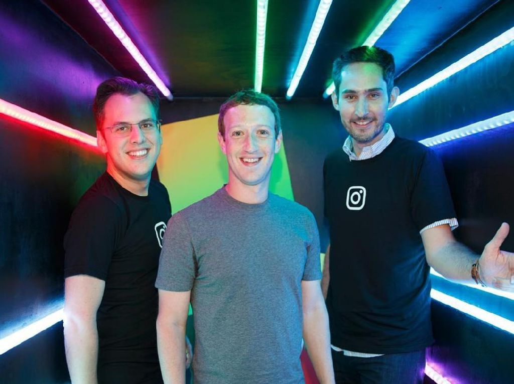 Momen Brilian Mark Zuckerberg Caplok WhatsApp dan Instagram
