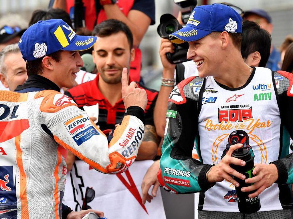 Quartararo Gagal di MotoGP 2020, Begini Analisis Marc Marquez