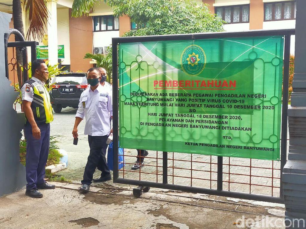 9 Pegawai Positif COVID-19, Pengadilan Negeri Banyuwangi Lockdown Lagi