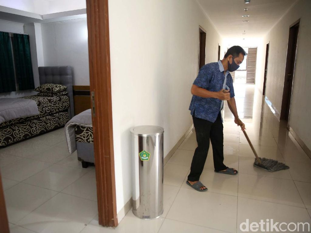 Potret Asrama Haji Bekasi yang Akan Jadi RS Darurat COVID-19