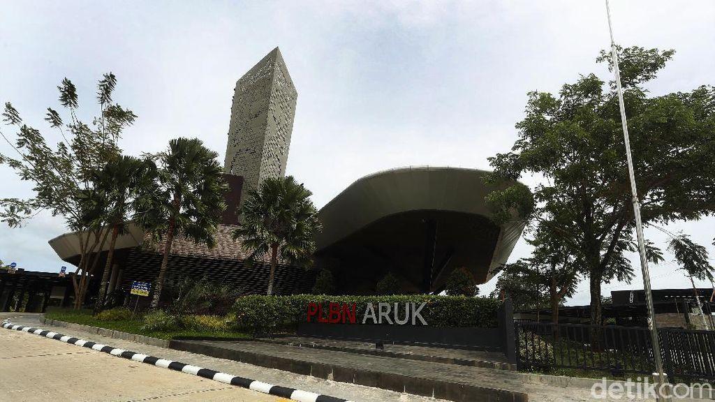 Tengok Lagi PLBN Aruk, Pintu Gerbang RI-Malaysia