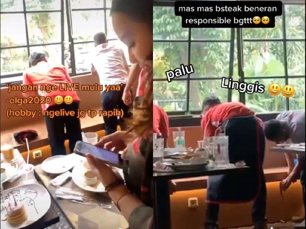 Live Instagram saat Makan di Restoran, Selebgram Ini Bikin Repot Pelayan