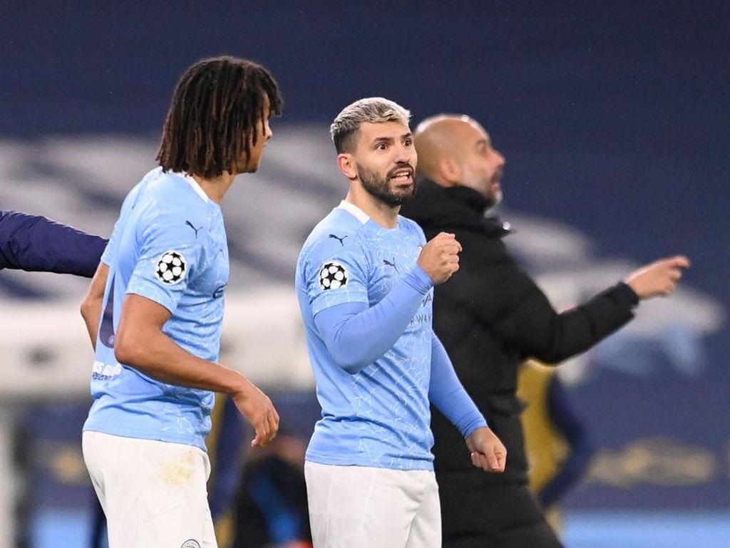 Gembiranya Man City, Sergio Aguero Main dan Bikin Gol Lagi