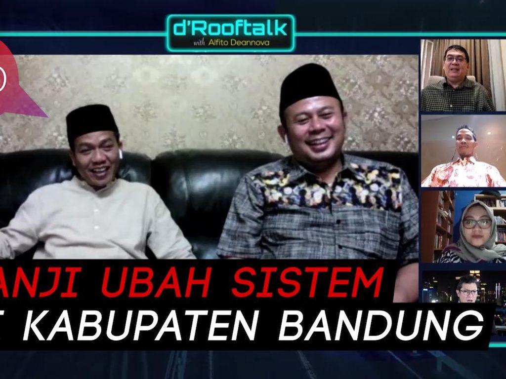 Dadang-Syahrul Akan Kurangi Banjir di Kabupaten Bandung