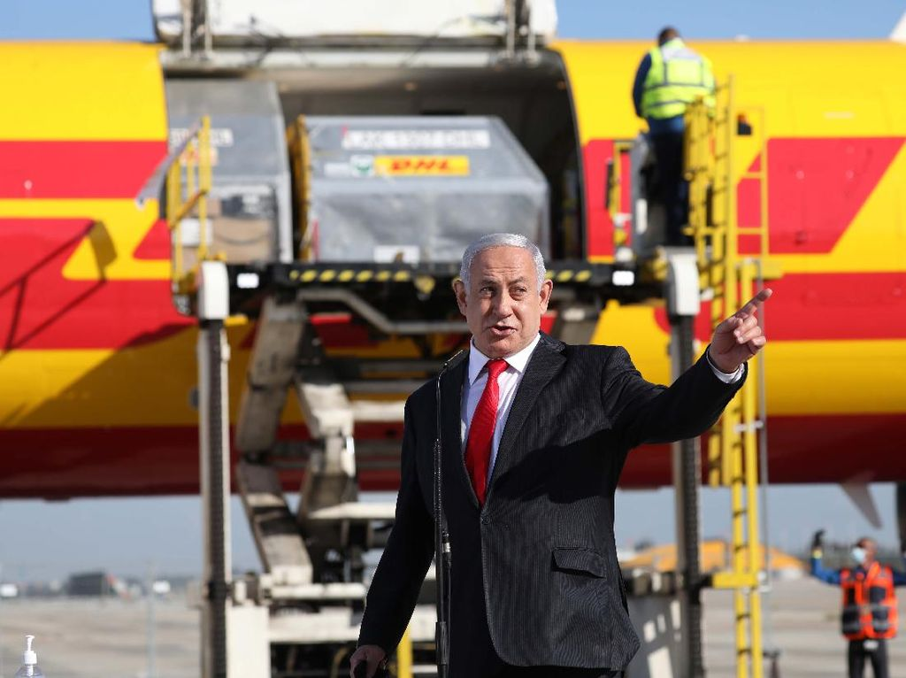 PM Israel Batal ke UEA Gegara Pesawatnya Tak Boleh Lewat Yordania