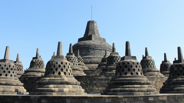 Borobudur is the biggest Buddhist Temple in the world.