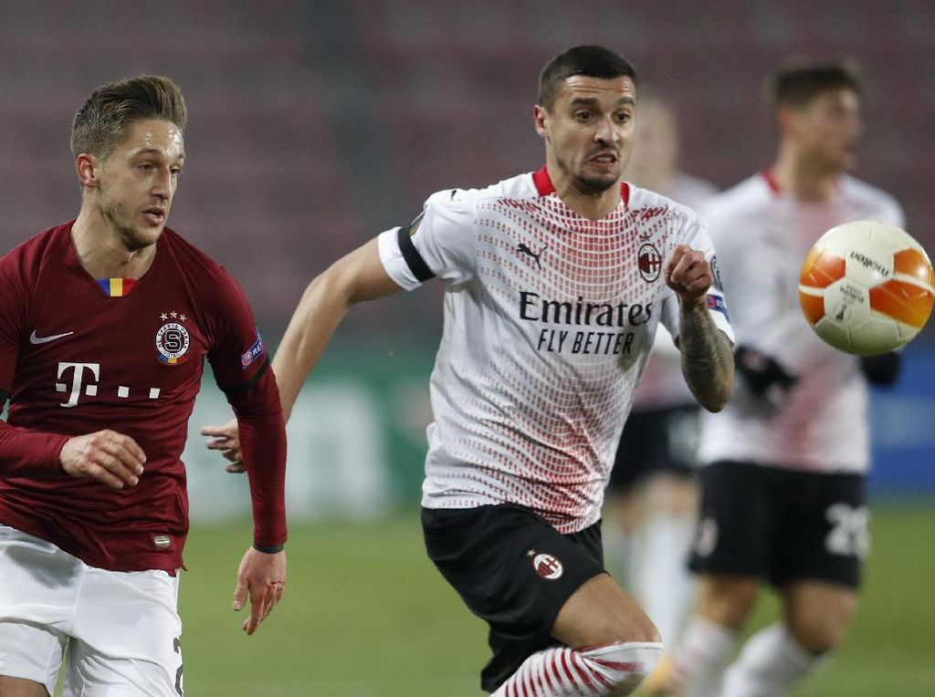 Sparta Praha Vs AC Milan: Rossoneri Menang Tipis 1-0