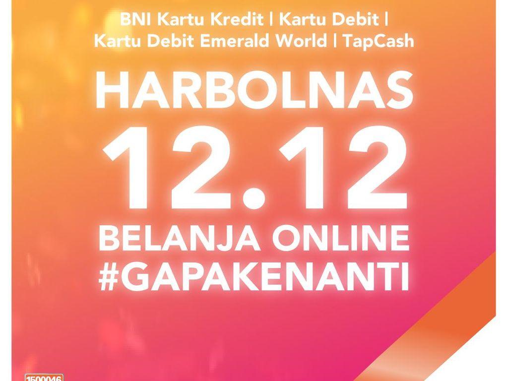 Harbolnas 12.12, BNI Tawarkan Promo Menarik untuk Nasabah