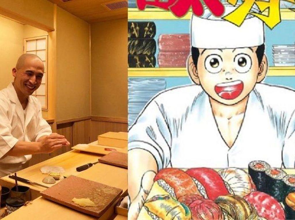 Terinspirasi Manga, Pria Ini Sukses Jadi Chef hingga Dapat Bintang Michelin