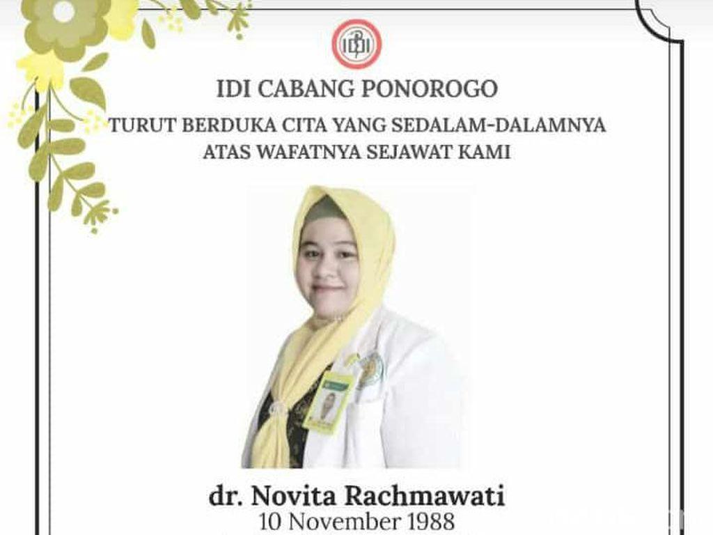 Dokter RS di Ponorogo Meninggal Positif COVID-19 Hamil Tujuh Bulan