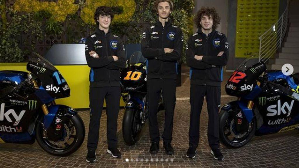 Terjun di MotoGP, Begini Livery Tim Valentino Rossi VR46