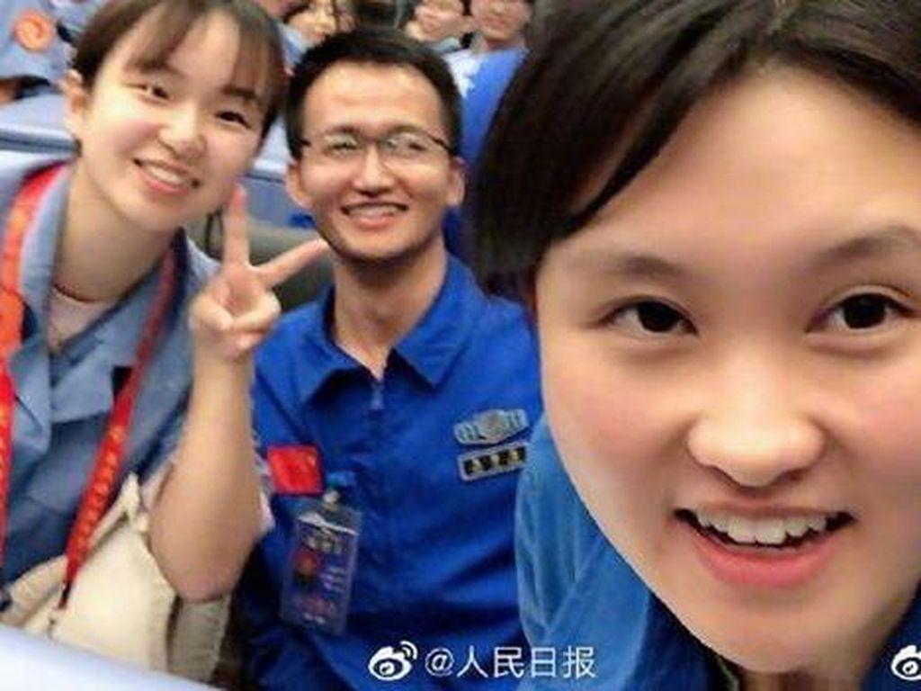 Ada Sosok Astronot Perempuan Muda di Balik Misi China ke Bulan