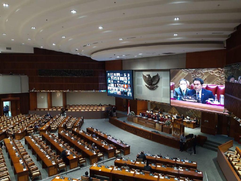 274 Anggota Dewan Tak Hadir Paripurna Penutupan Masa Sidang DPR