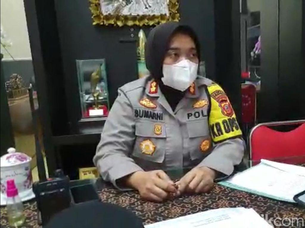 Polisi Amankan 5 Orang Mahasiswa Sukabumi Terkait Kerumunan Saat Demo