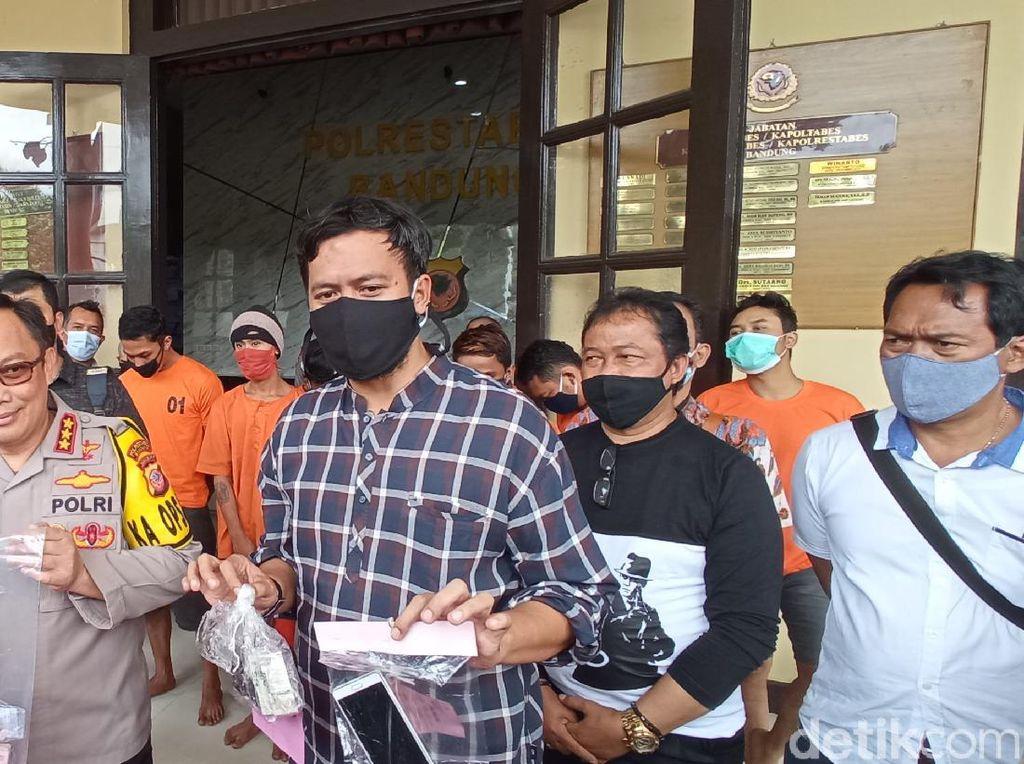 Dalam 10 Hari, 20 Pelaku Kejahatan di Bandung Ditangkap