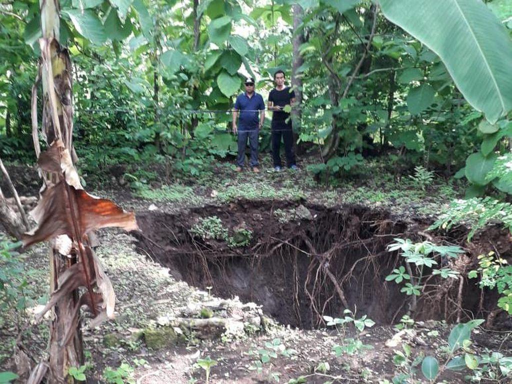 Sumur di Gunungkidul Hilang Bak Tertelan Bumi, BPBD: Diduga Tanah Labil