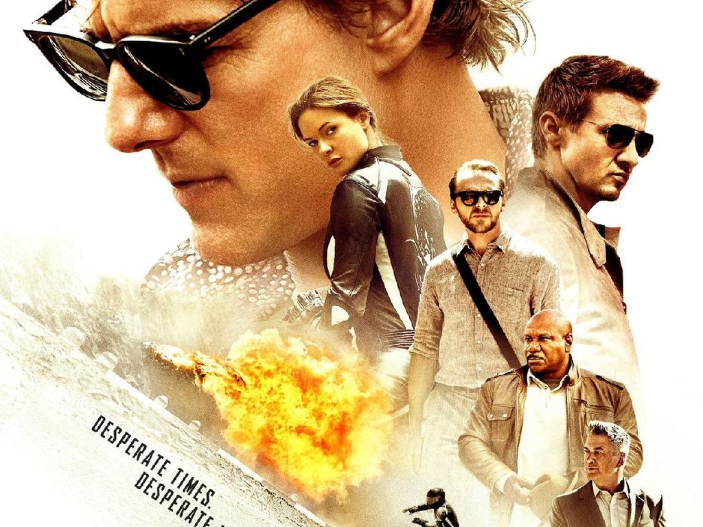 Sinospsis Mission: Impossible - Rogue Nation, Aksi Tom Cruise Lawan Teroris