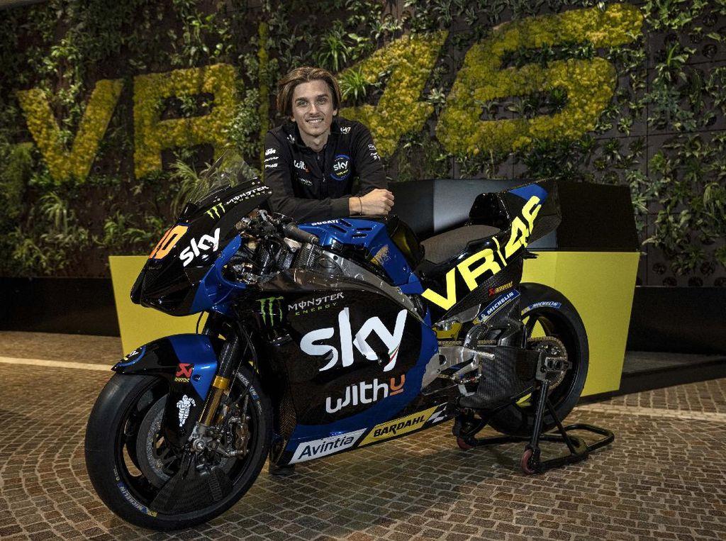 Debut di MotoGP, Tim Balap Valentino Rossi VR46 Pamer Tunggangan