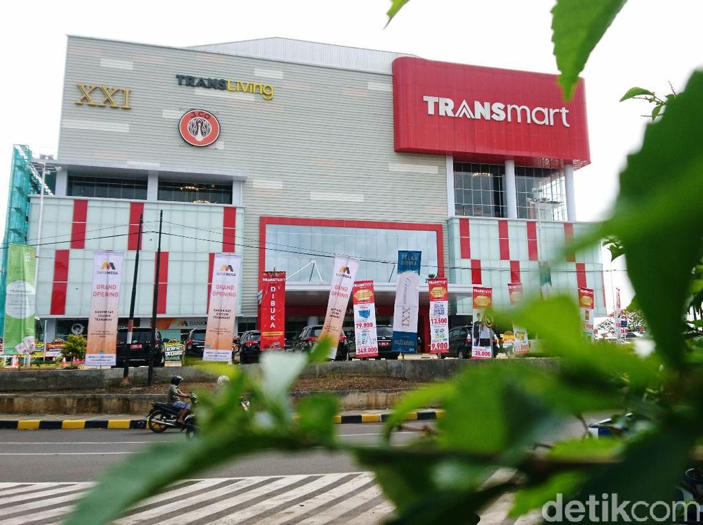Lantai 3 & 4 Transmart Cilegon Segera Buka dengan Prokes Ketat