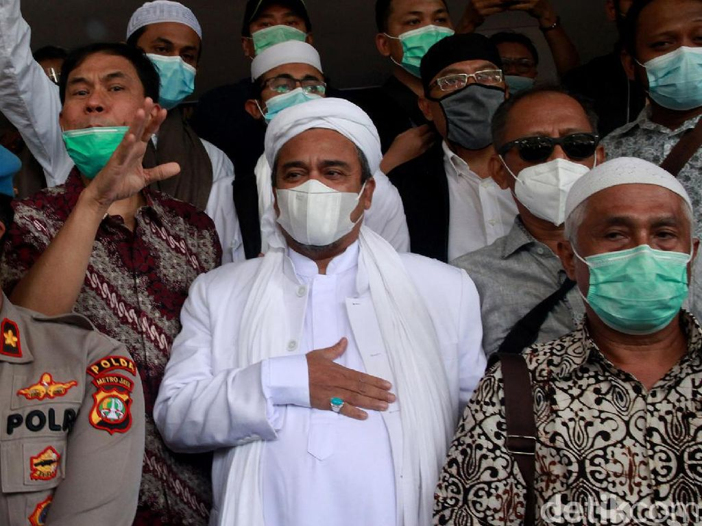 Tak Masalah bagi Habib Rizieq FPI Dilarang Sebab Bakal Dibentuk Lagi