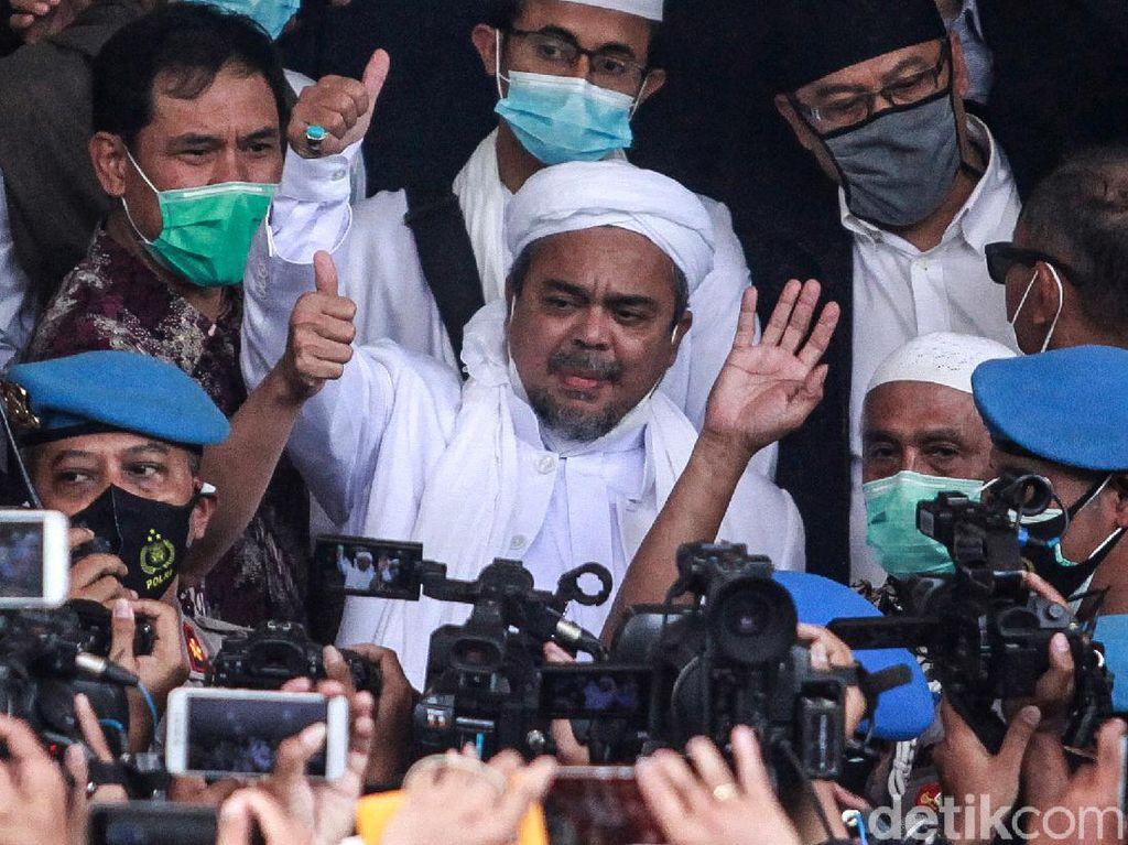 Membaik Kesehatan Habib Rizieq Meski Sempat Sesak Napas di Rutan