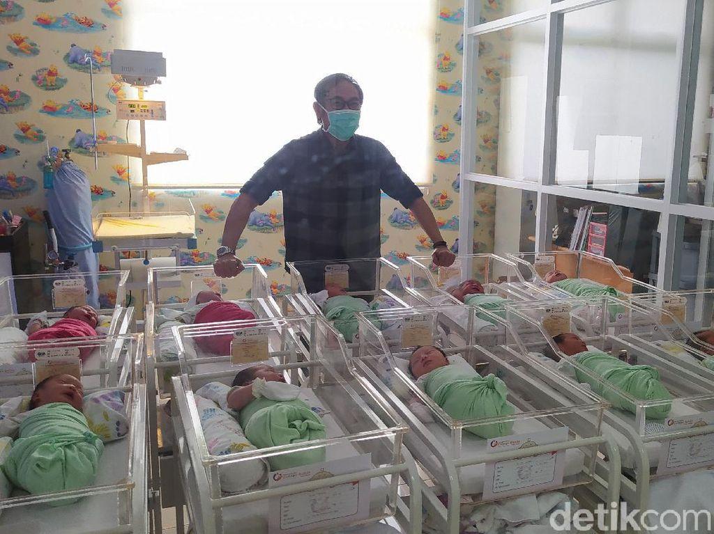 Tanggal Cantik 12-12, 12 Bayi Lahir di RS Bersalin Cirebon