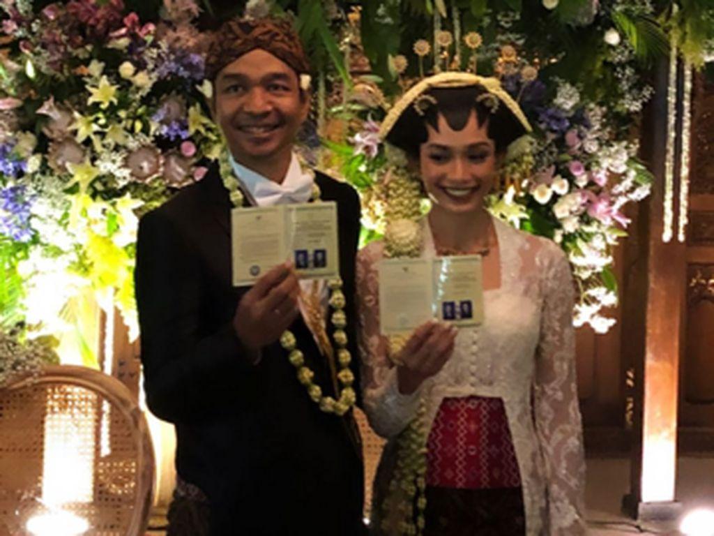 Sah! Dimas Djay Menikah dengan Faradina Mufti