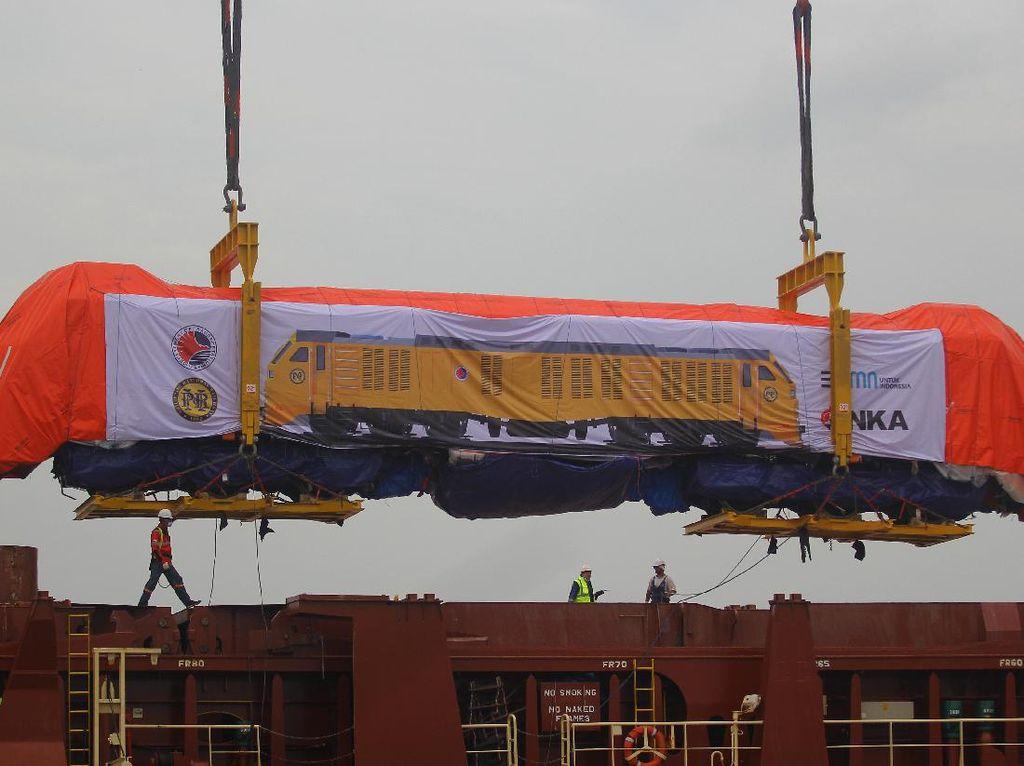 Keren, INKA Ekspor Lokomotif dan Kereta ke Filipina Lho