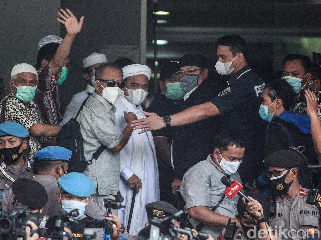 Habib Rizieq-Menantu Diperiksa sebagai Tersangka Kasus Tes Swab Jumat Ini