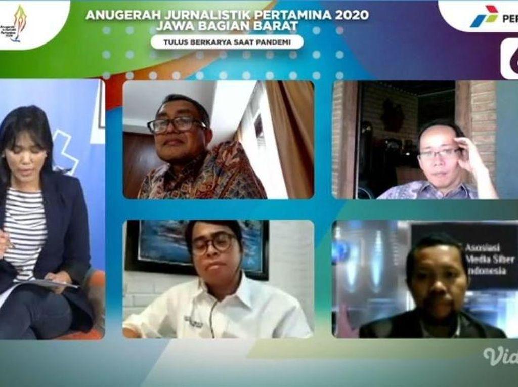 Ini 24 Pemenang Lomba Jurnalistik Pertamina Wilayah Jawa Bagian Barat