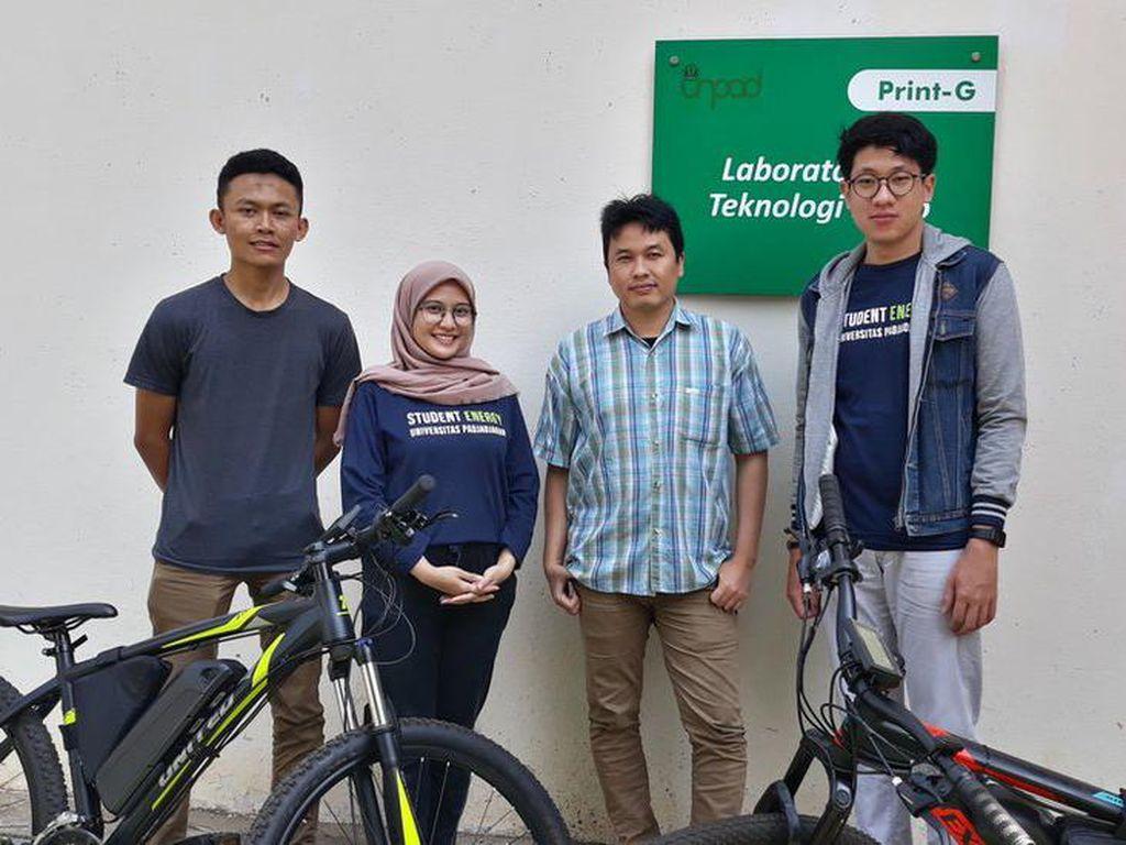 Sepeda Listrik Buatan Mahasiswa Unpad Ditargetkan Bisa Diproduksi Massal