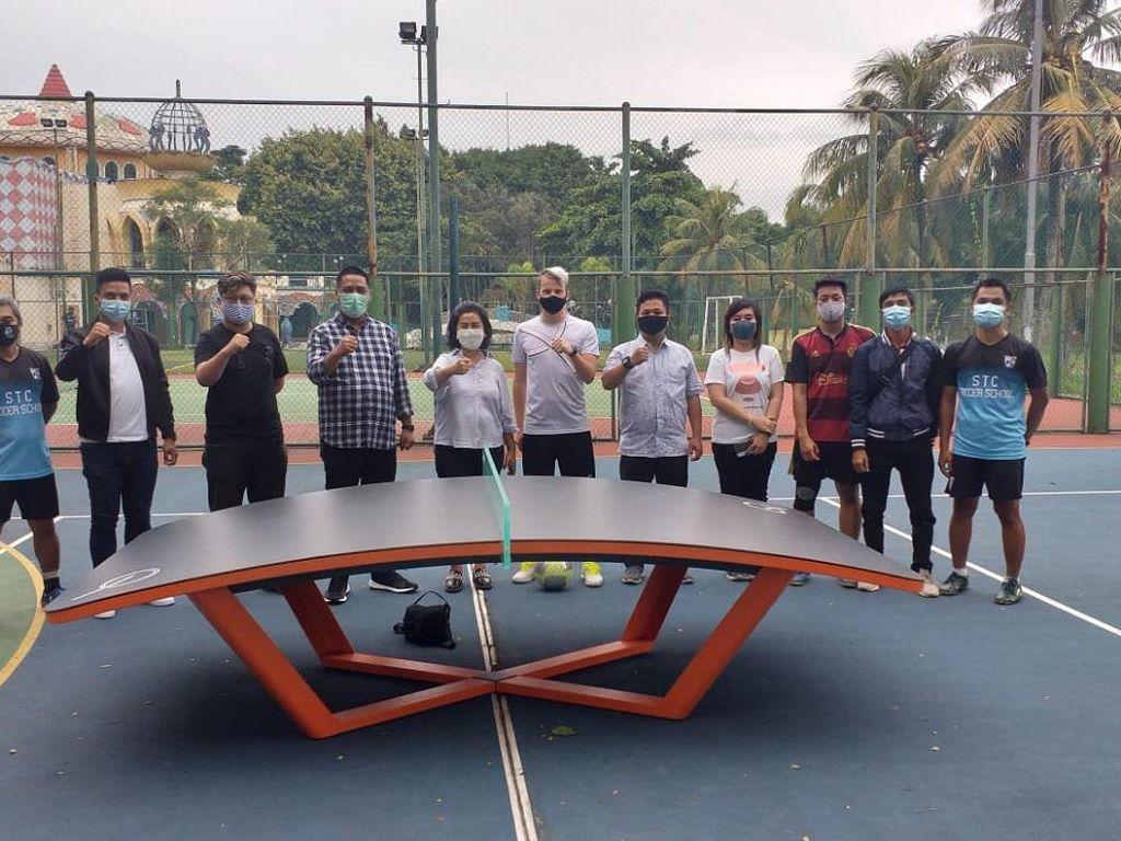 Olahraga Teqball Mulai Menjalar ke Banten