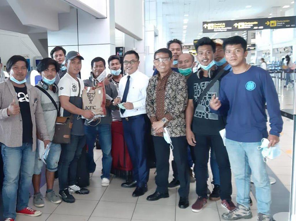 Terlibat Kasus Ganja, 2 WNI ABK Dipulangkan dari Panama City
