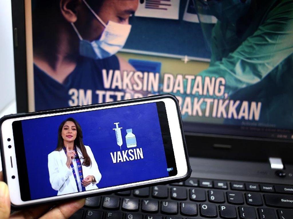 dr Reisa Sebut Vaksin Akan Sempurna Jika Prokes 3M Diterapkan