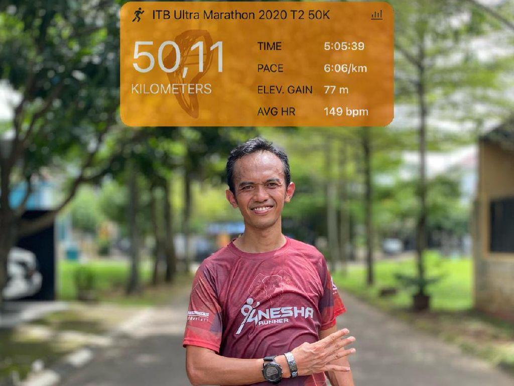 BNI-ITB Virtual Ultra Marathon Euforia Berbalut Protokol Kesehatan