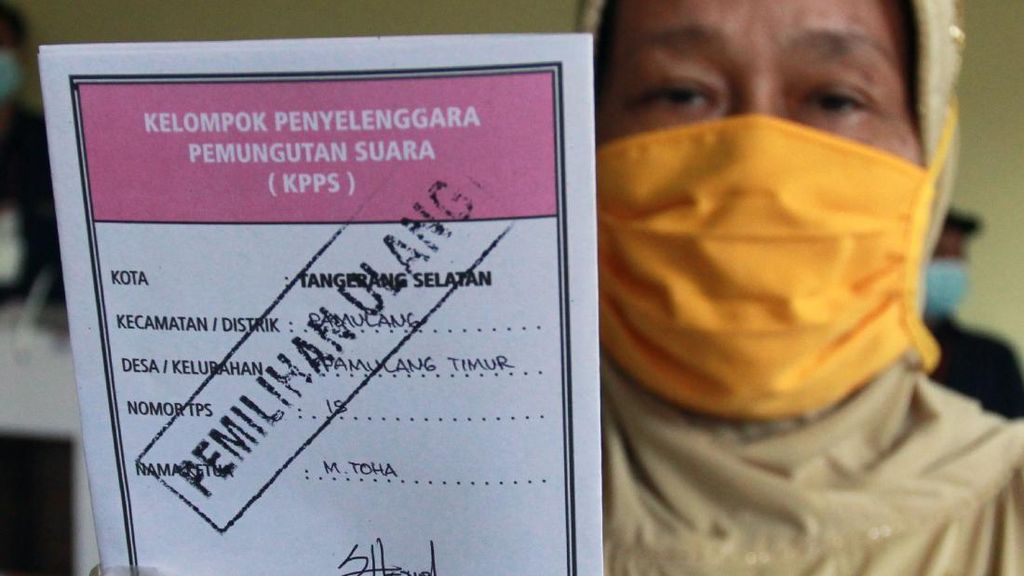 3 TPS di Tangsel Gelar Pemilihan Ulang