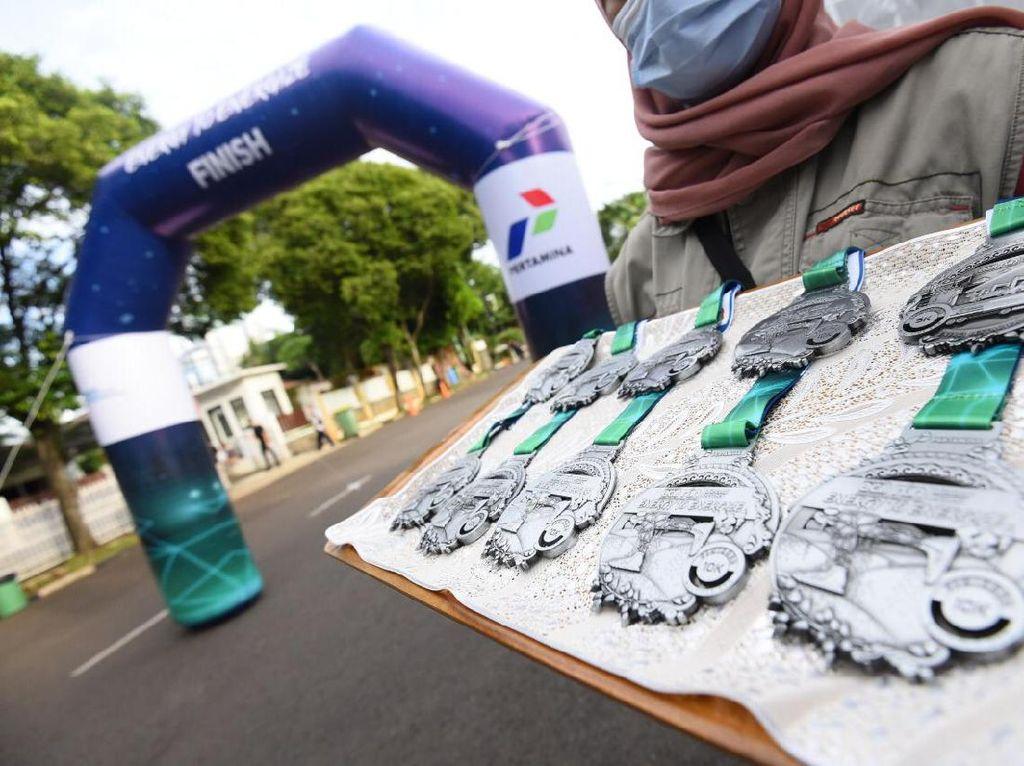 3.000 Runner Pertamina Eco Run Donasi Rp 2,95 M untuk Difabel