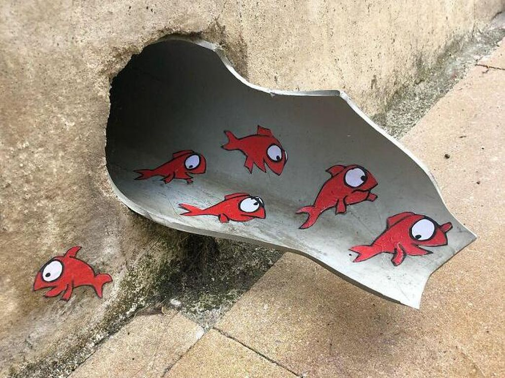 Aksi Vandalisme yang Super Kreatif